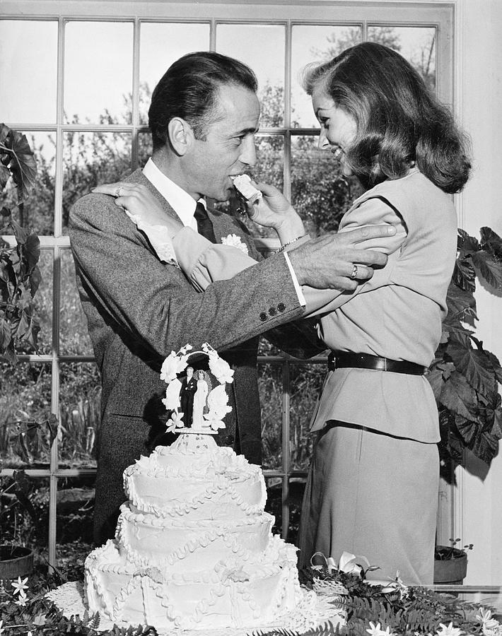Humphrey Bogart & Wife 4lauren Bacall Photograph by Ed Clark