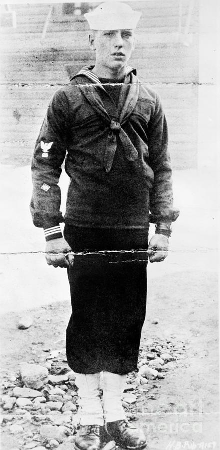 Humphrey Bogart In Sailor Uniform Photograph by Bettmann
