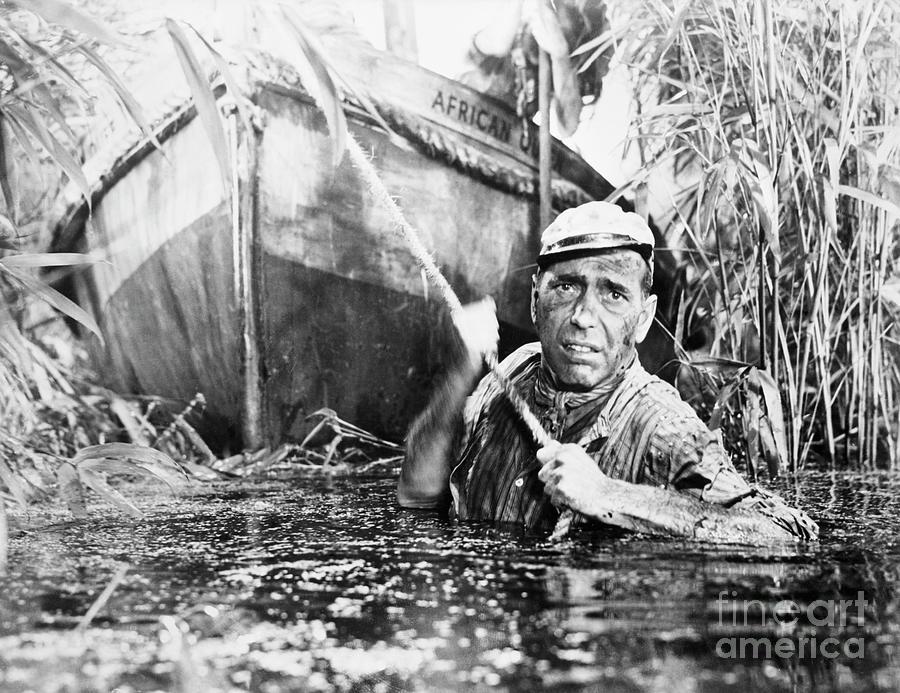 Humphrey Bogart In The African Queen Photograph by Bettmann
