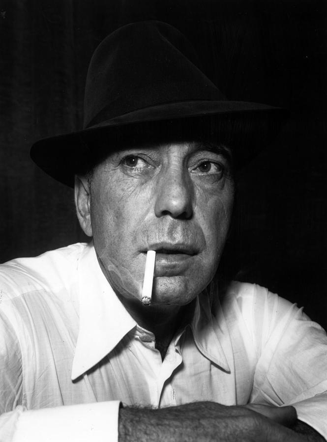 Humphrey Bogart Photograph by Mitchell
