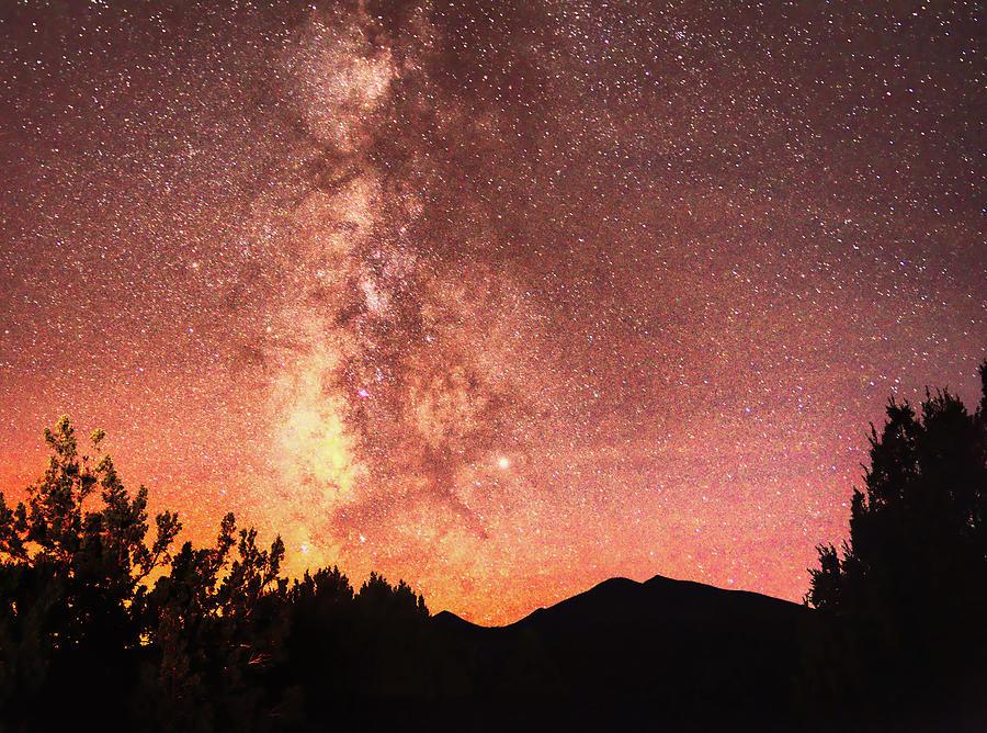 Humphreys Peak Milky Way Stars by Chance Kafka