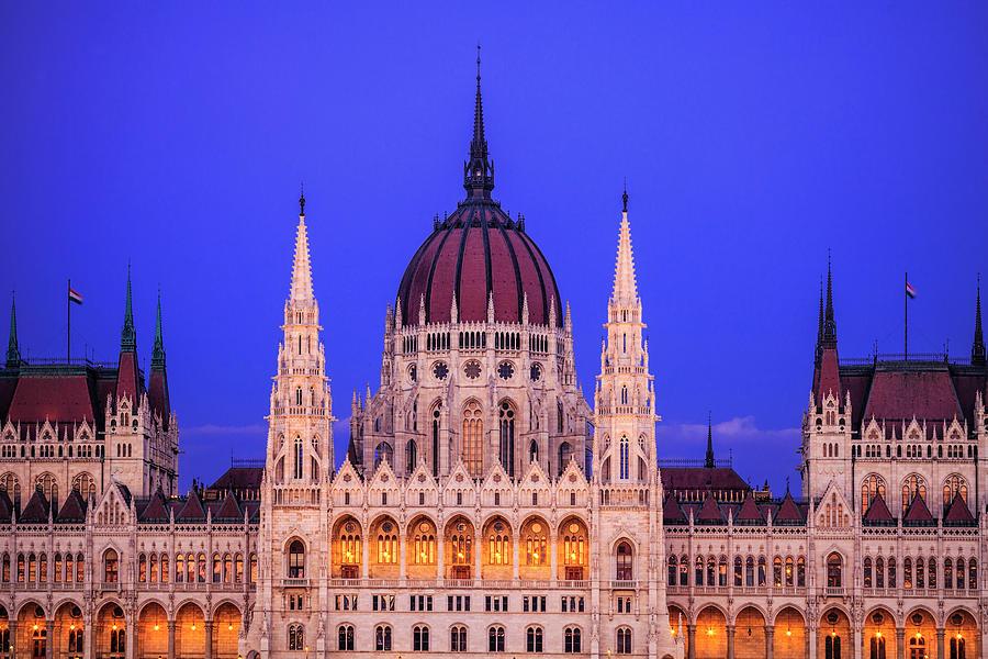 Hungarian Parliament Photograph