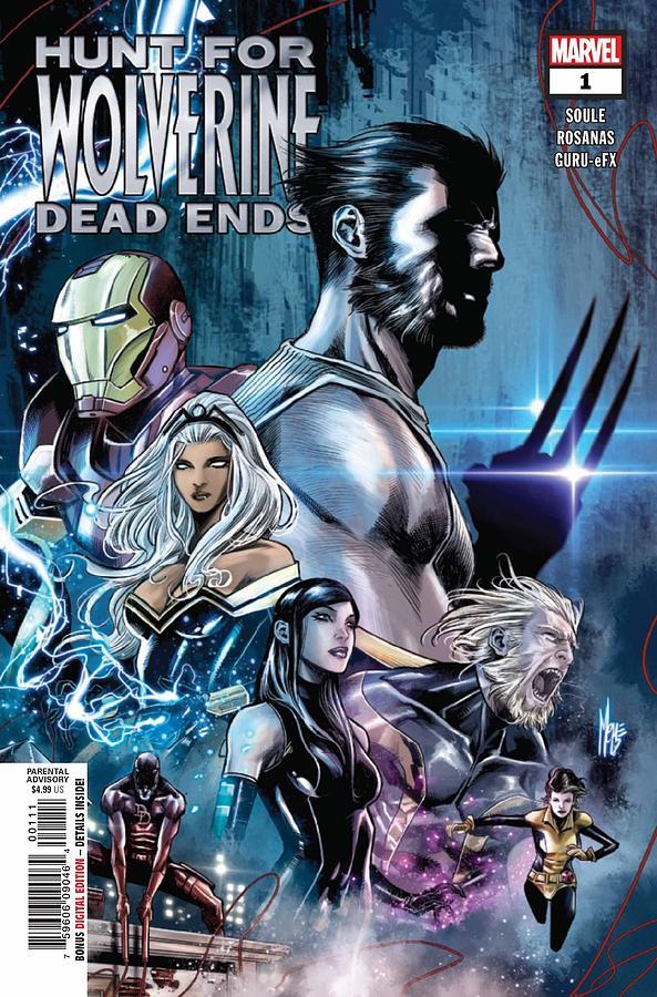 Iron Man Digital Art - Hunt For Wolverine Dead Ends by Geek N Rock