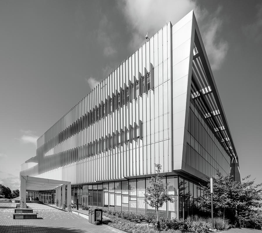 Hunt Library in Black and White by Wade Brooks