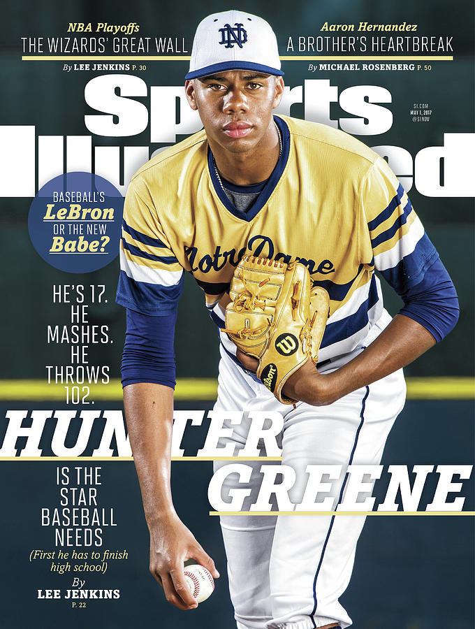 Hunter Greene Is The Star Baseball Needs Sports Illustrated Cover Photograph by Sports Illustrated