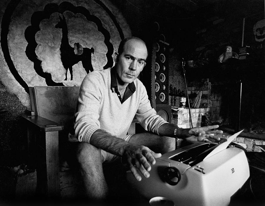 Hunter S. Thompson Photograph by Michael Ochs Archives