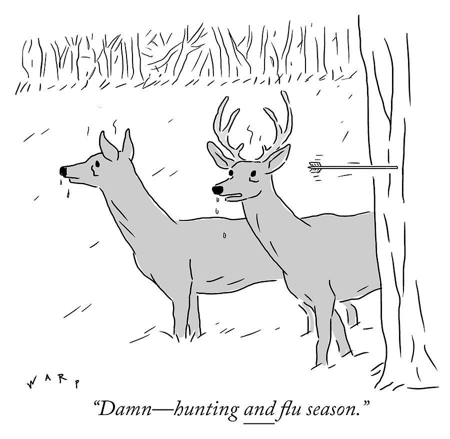 Hunting and flu season Photograph by Kim Warp