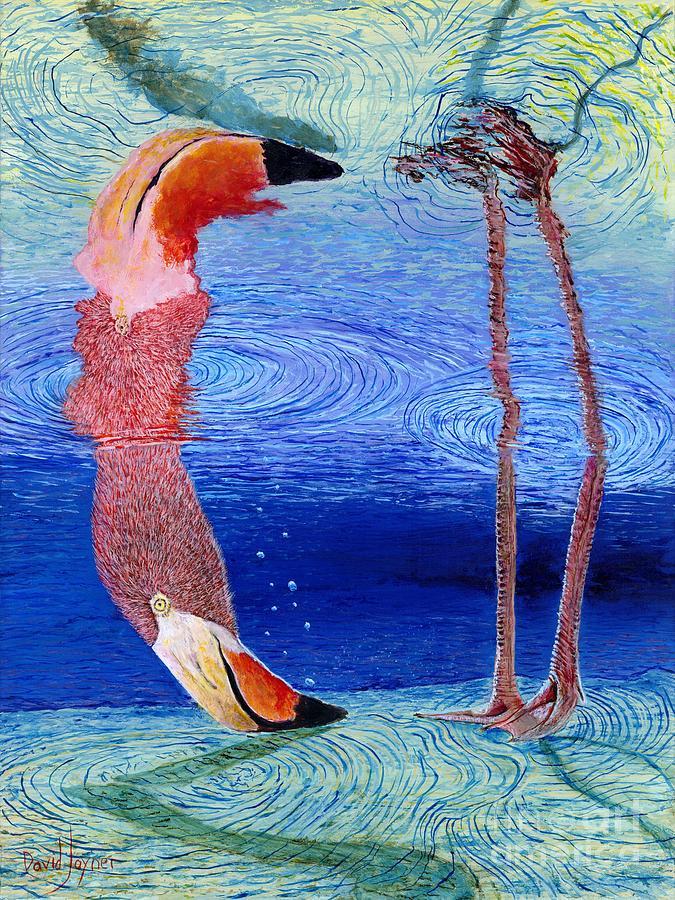 Hunting For Shrimp by David Joyner