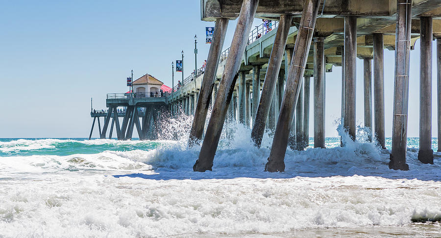 Huntingdon Beach Pier by Maggie McCall