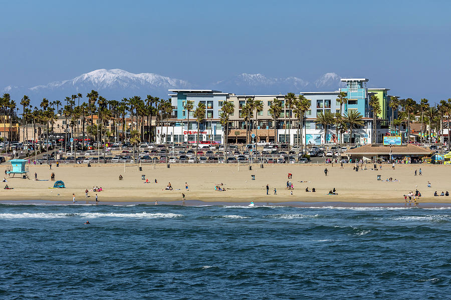 Huntington Beach Winter by Kelley King