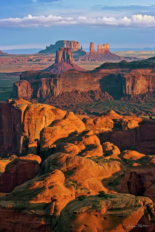Hunts Mesa Sunrise by Dan Norris