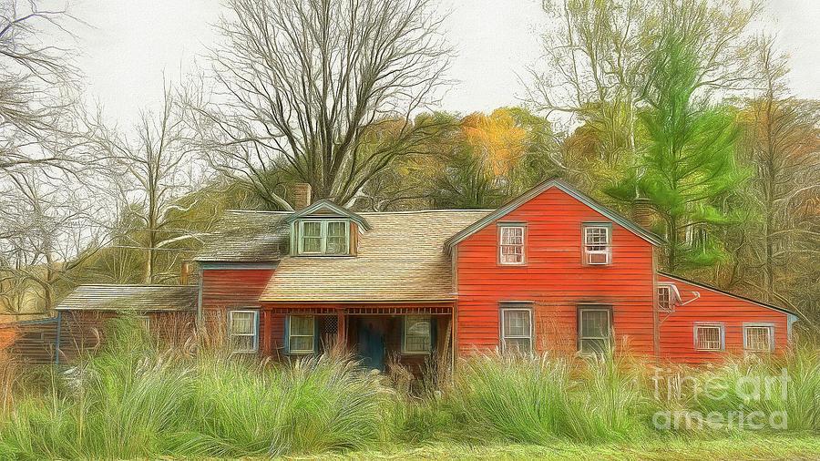 Hunt's Village Dover NY by Kathy Baccari