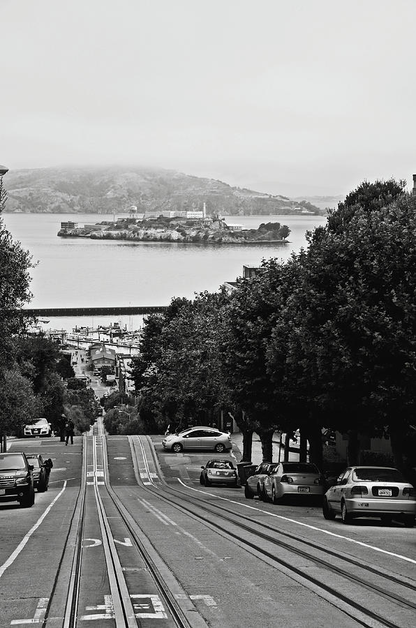 Hyde St and Alcatraz Island by RicardMN Photography