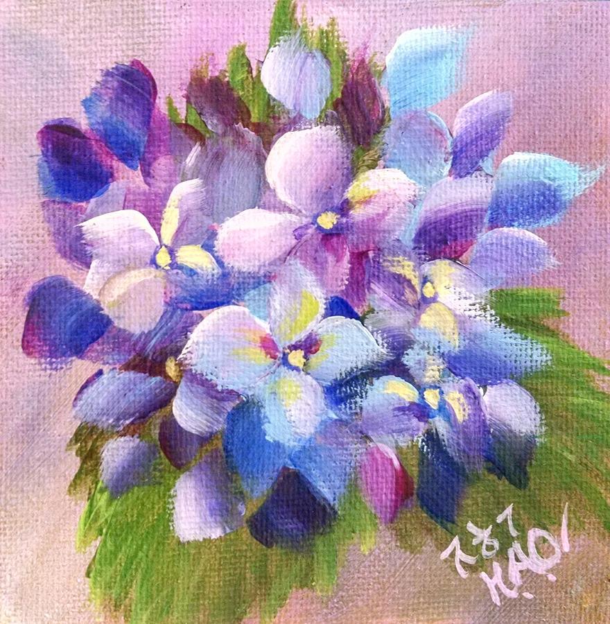 Hydrangea 6 by Helian Osher