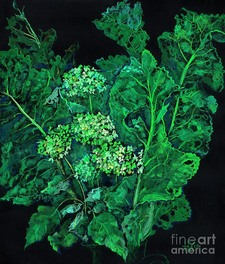 Hydrangea and Horseradish  by Julia Khoroshikh