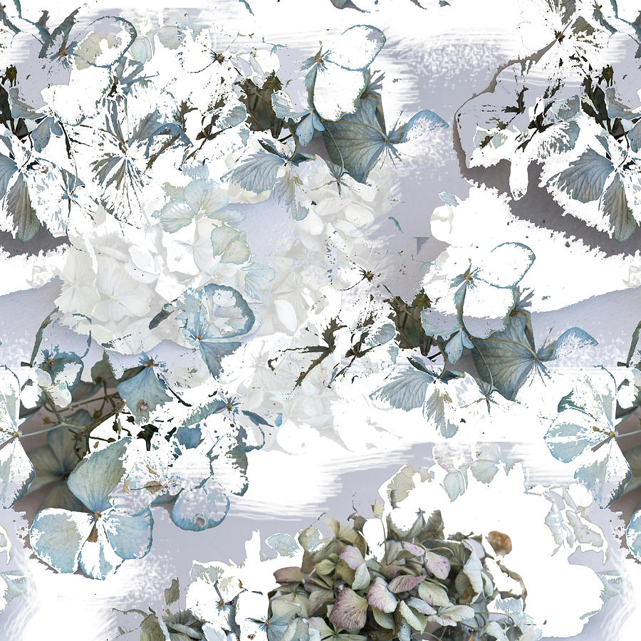 Hydrangeas in powder blue by Jocelyn Friis