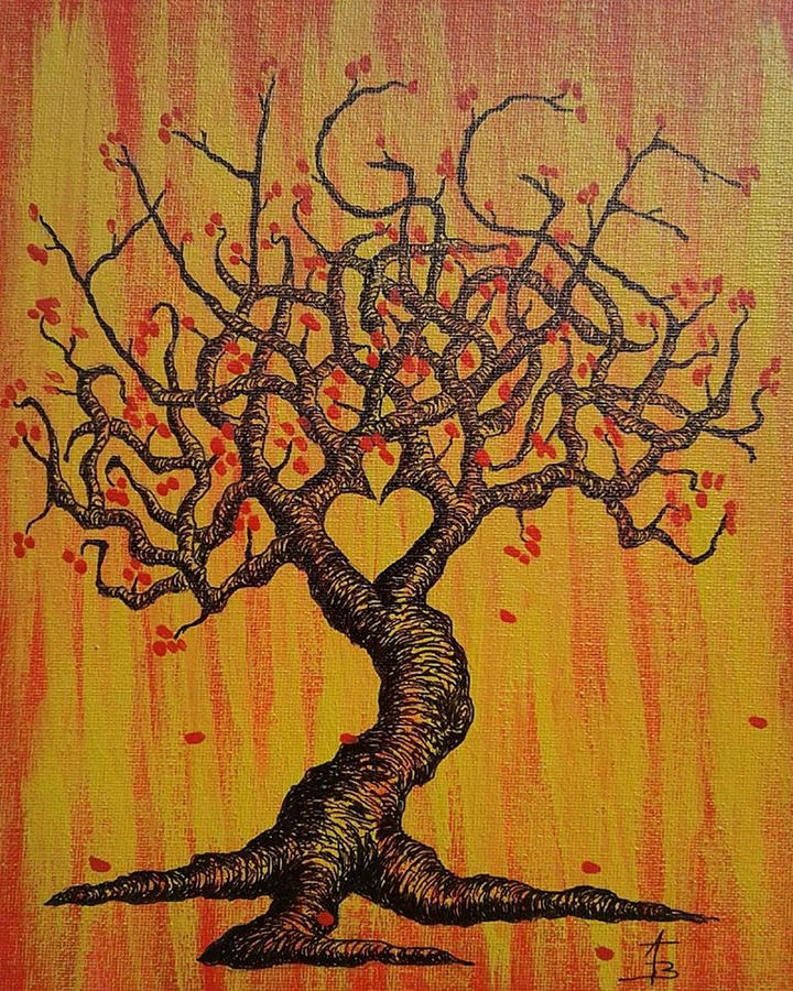 Hygge Love Tree by Aaron Bombalicki