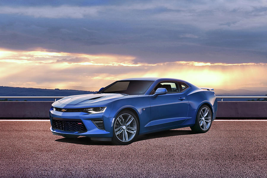 Chevrolet Photograph - Hyper Blue by Peter Chilelli