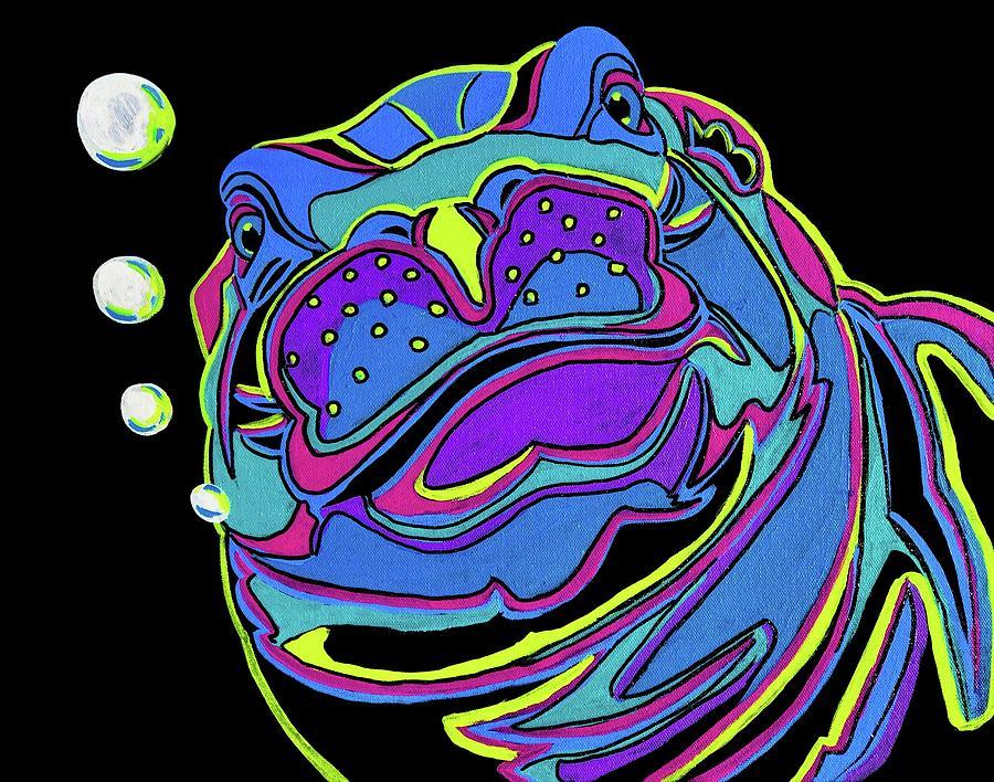 Hypnotic Hippo by Mark Ray