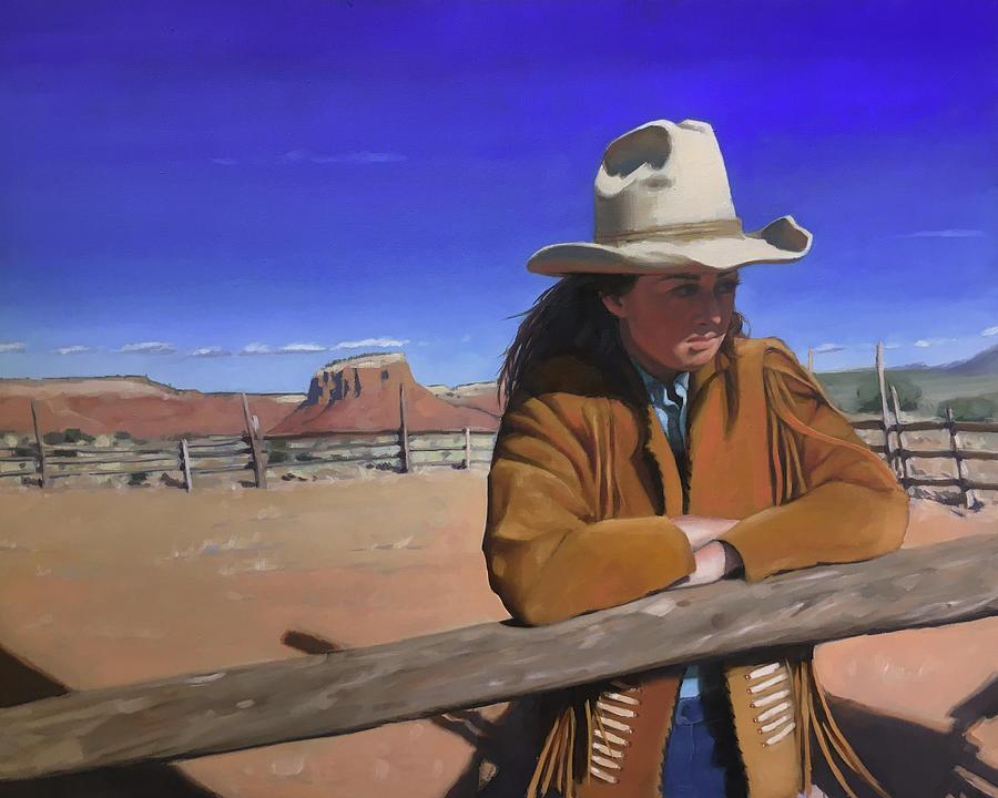 I aint afraid to love a man, but I aint afraid to shoot him either.  Annie Oakley by Elizabeth Jose