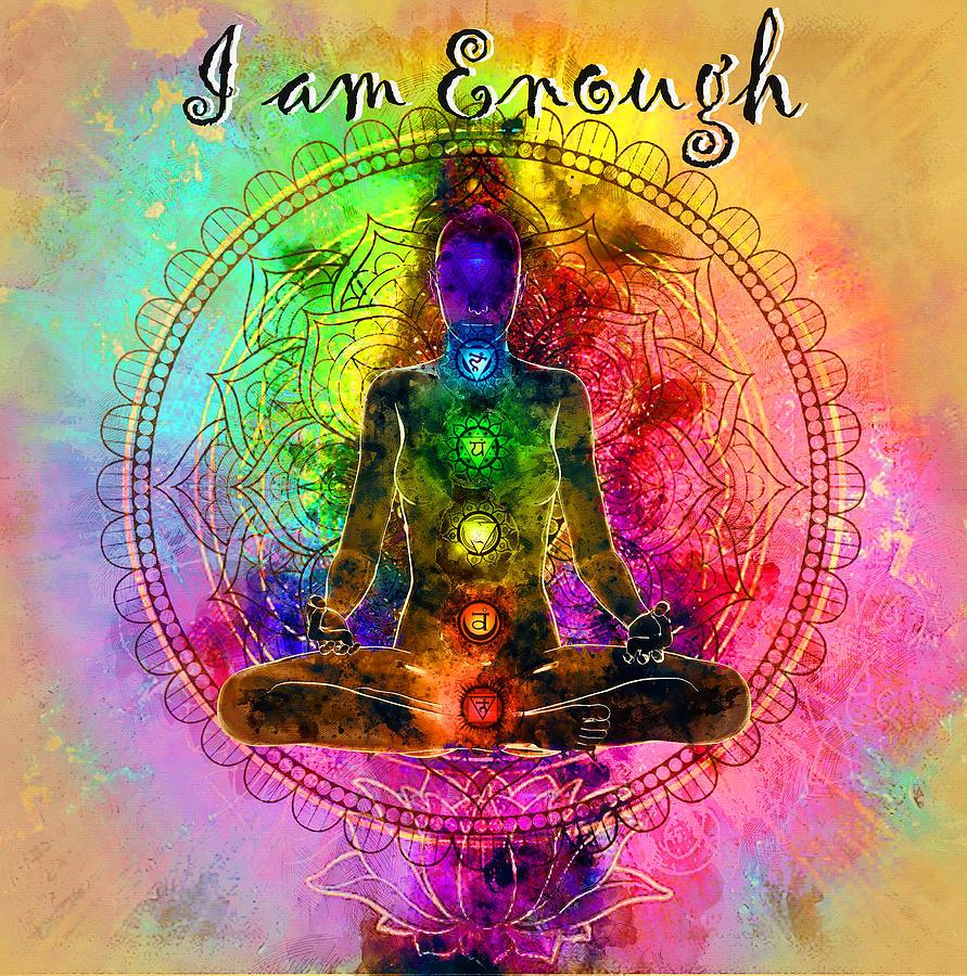 I am Enough Kundalini by Carlos Paredes
