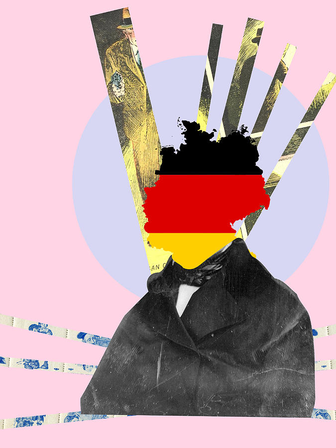 I Am Going Germany Digital Art