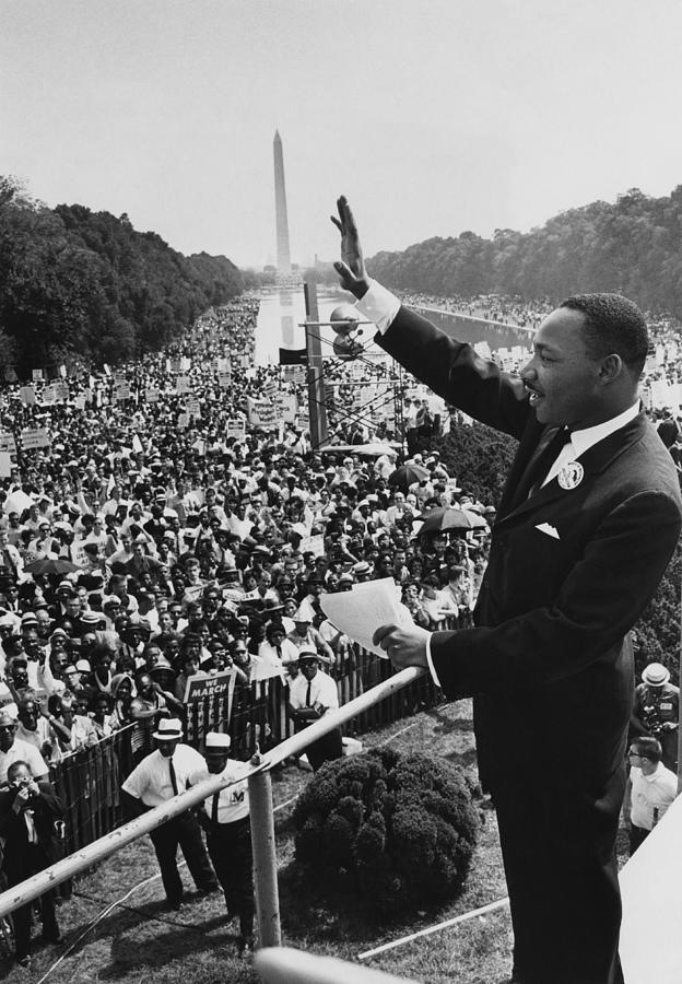 I Have A Dream Photograph by Hulton Archive