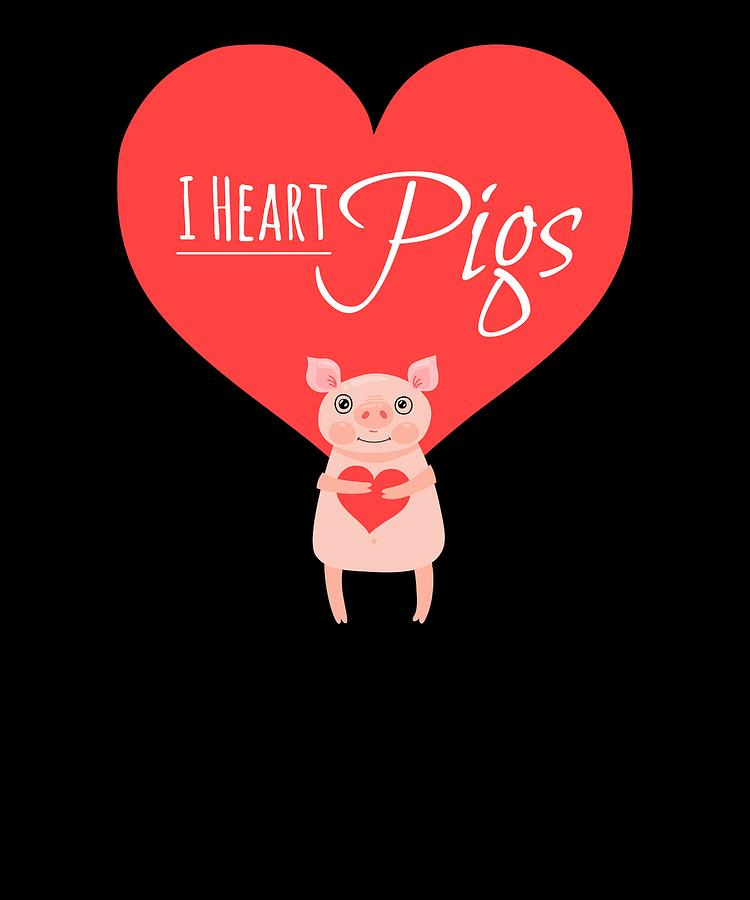 I Heart Pigs by Kaylin Watchorn