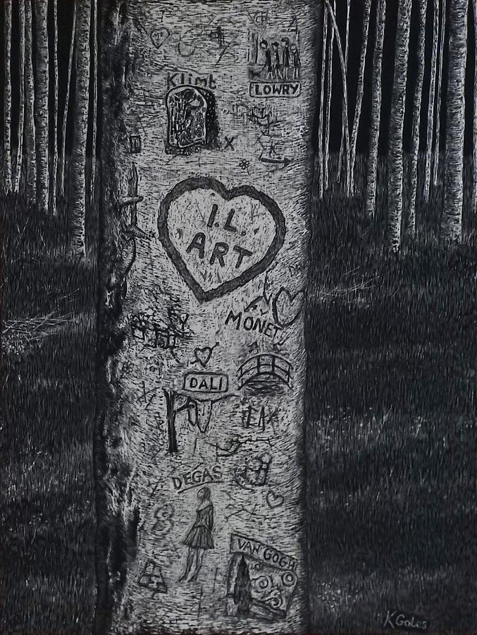 Graffiti Tribute  by Kathy Gales