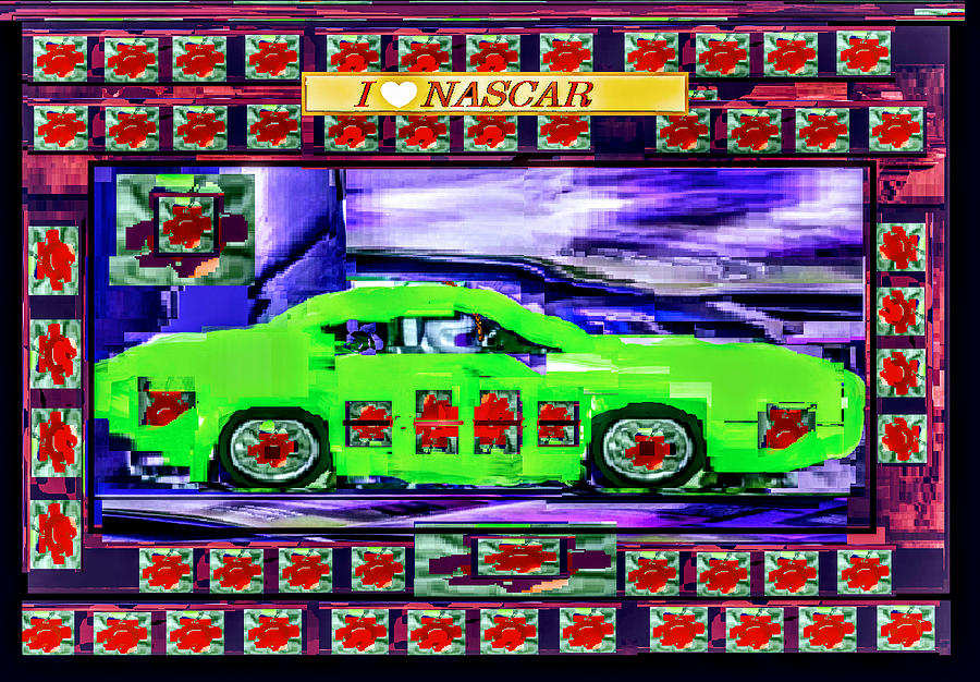 Cool Nascar Digital Art