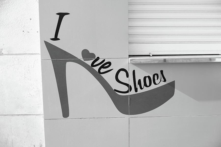 I Love Shoes Photograph
