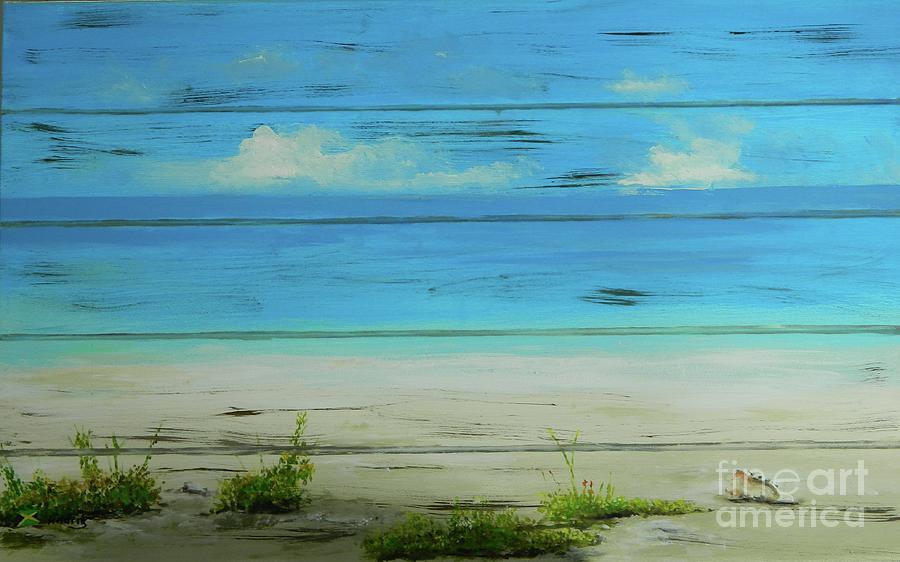 I Love The Beach 2 by Kenneth Harris
