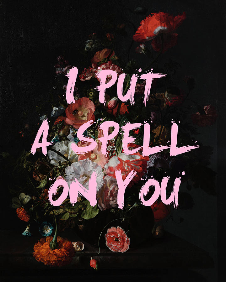I Put a Spell On You Print by Georgia Fowler
