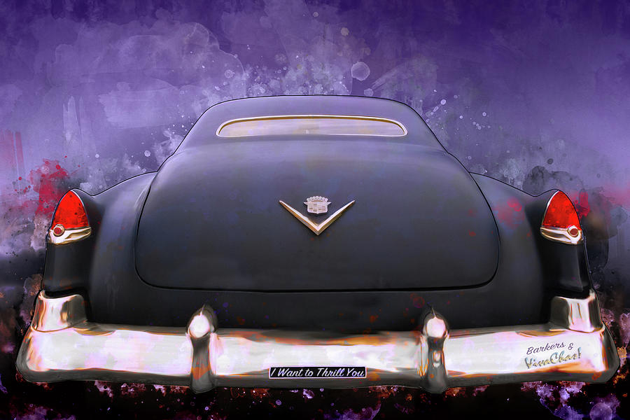 I Want to Thrill You My 56 Caddy Will Chill You by Chas Sinklier