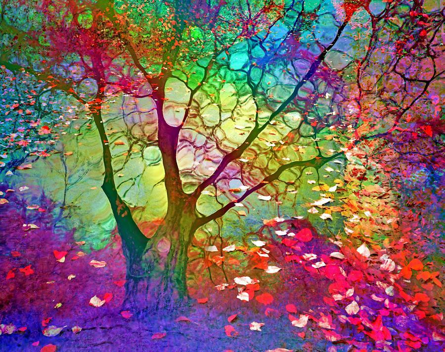 Tree Digital Art - I Will Be Your Rainbow by Tara Turner