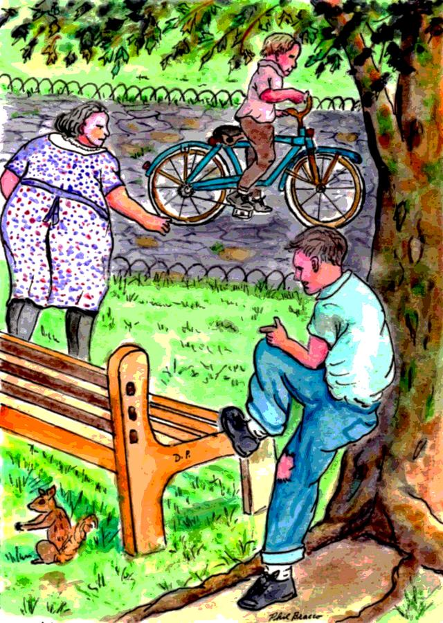I Wish I Could Have a Bike by Philip Bracco