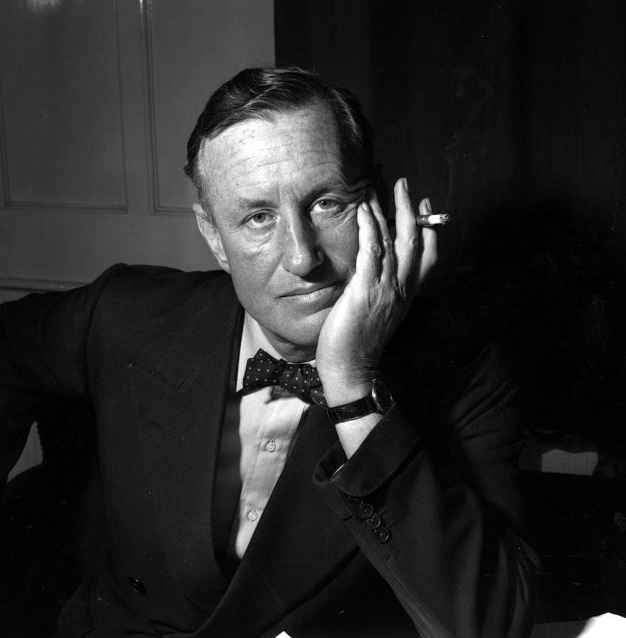 Ian Fleming Photograph by Express Newspapers