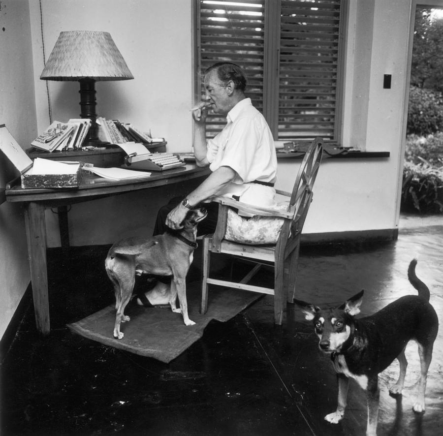 Ian Fleming Photograph by Harry Benson