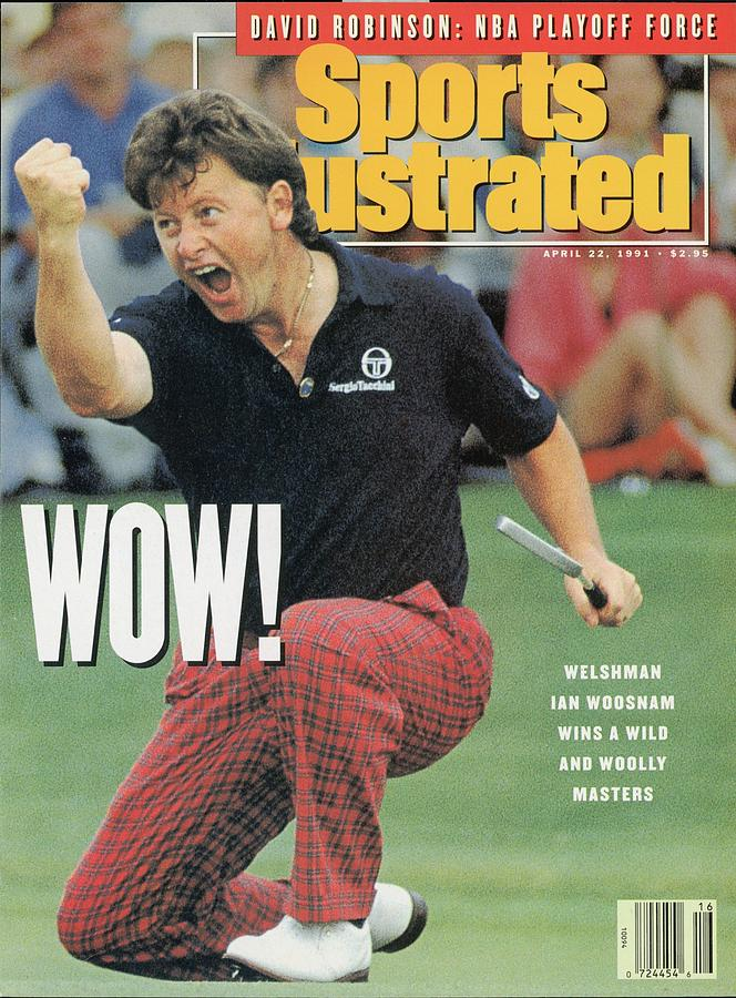 Ian Woosnam, 1991 Masters Sports Illustrated Cover Photograph by Sports Illustrated