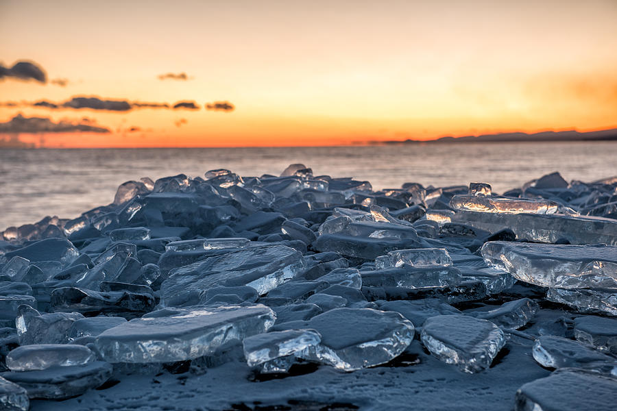 Ice And Fire Photograph by Daniel Sigg