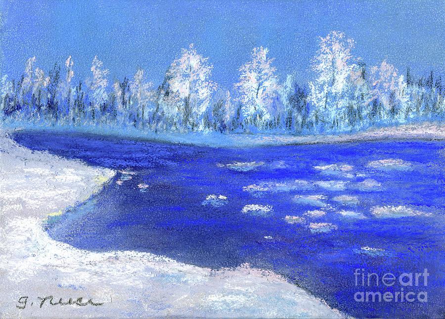 Ice Break Up by Ginny Neece
