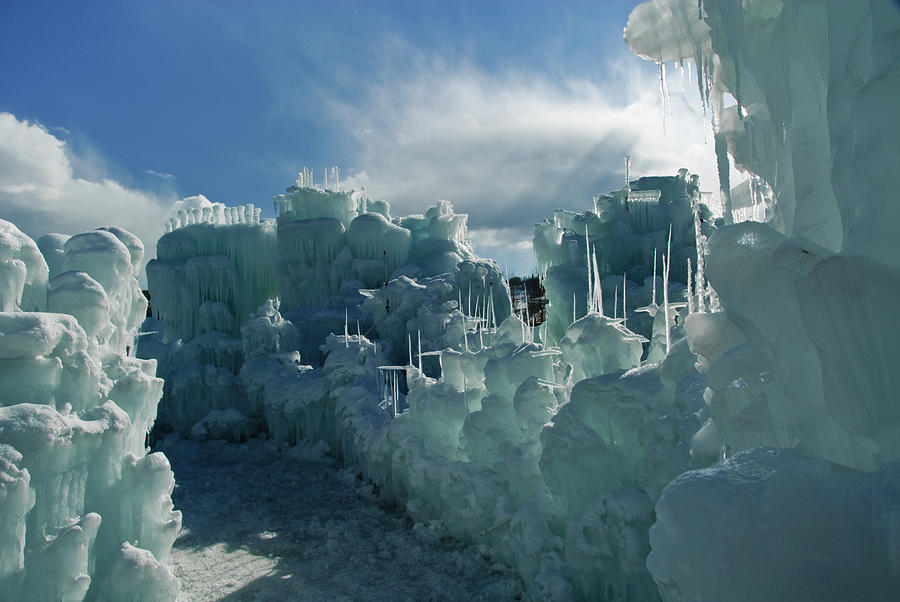 Ice Castle Photograph by Robin Wilson Photography
