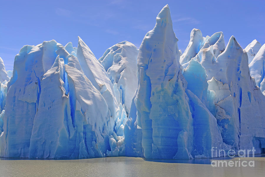 Mountains Photograph - Ice Castles On A Sunny Day At The Grey by Wildnerdpix
