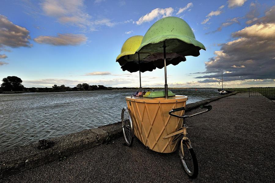 Ice Cream Photograph by Hans Joachim Breuer