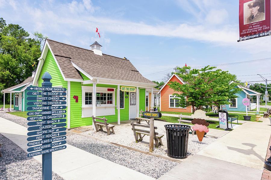 Ice Cream Shop by Charles Kraus