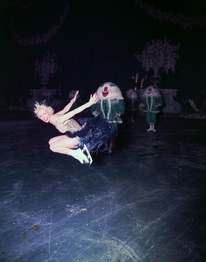 Ice Dancer Photograph by Carl Sutton