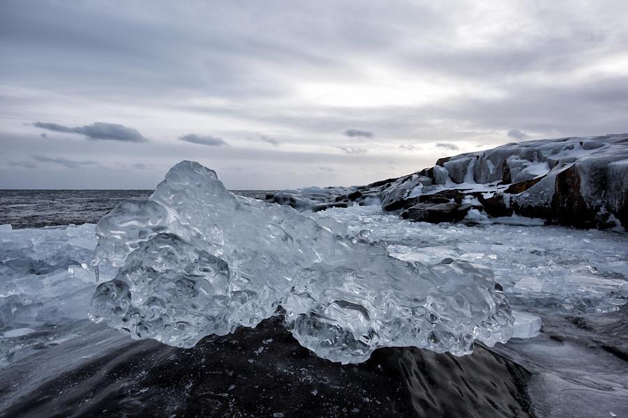 ice Photograph by Daniel Sigg