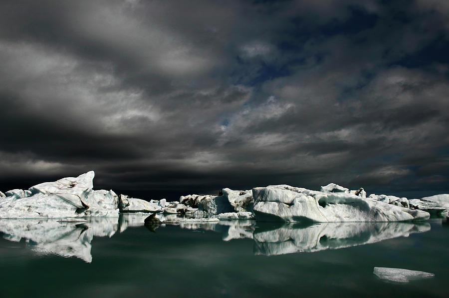 Ice Field Photograph by Bragi Ingibergsson