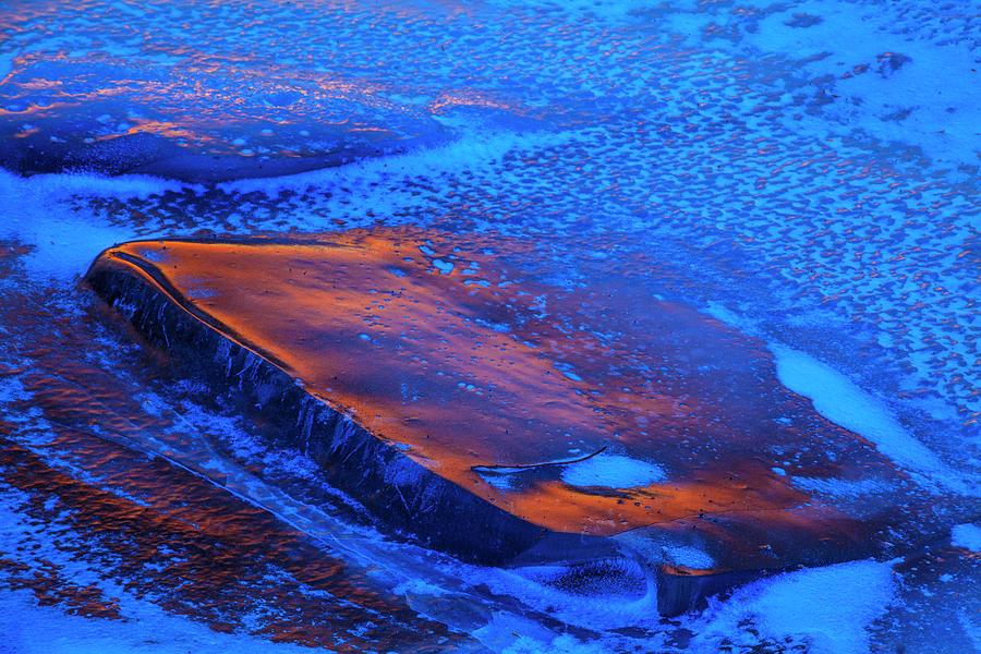 Ice Fire Tablet by Irwin Barrett