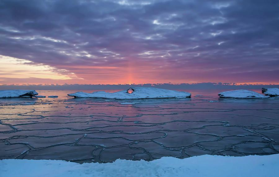 Ice Floaters by Patti Raine